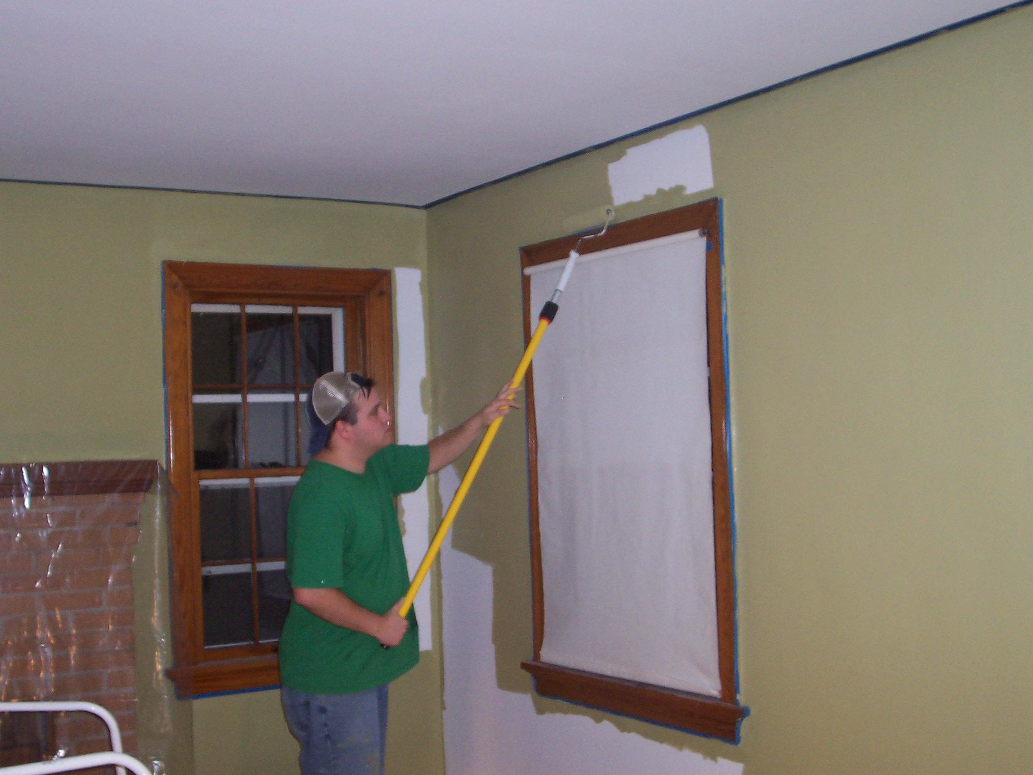 Living Room paint job | The Hyper House