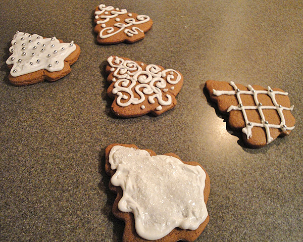 Christmas Tree Gingerbread Cookies The Hyper House
