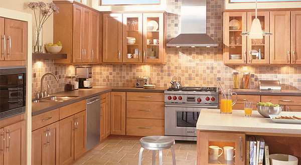 wood kitchen cabinets home depot images