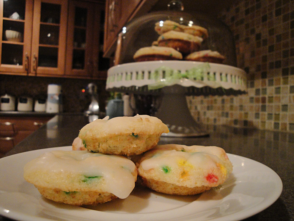 Baked Funfetti Doughnuts The Hyper House