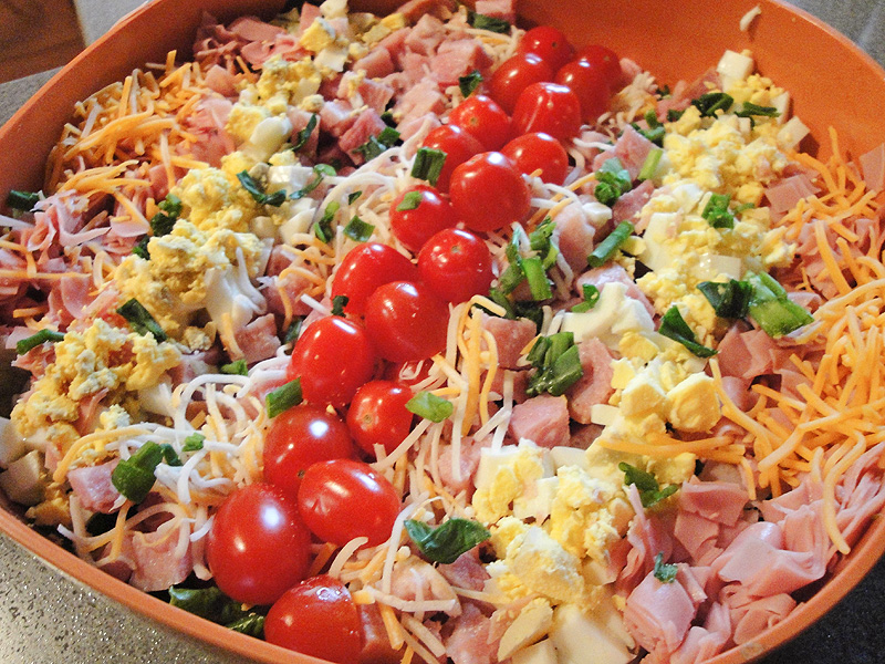 Club Cobb Salad | The Hyper House
