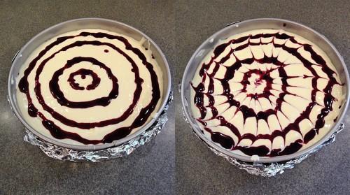 cheesecake swirls