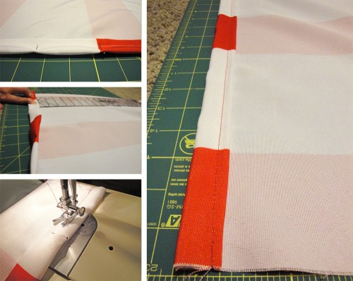 hemming pillows