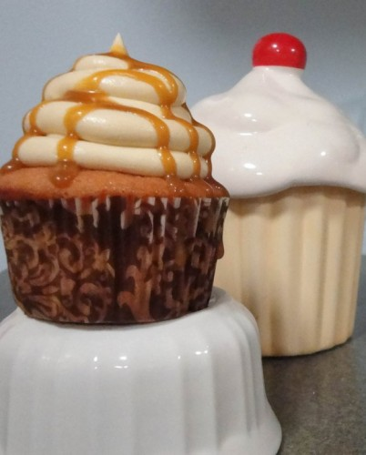butterbeer cupcake