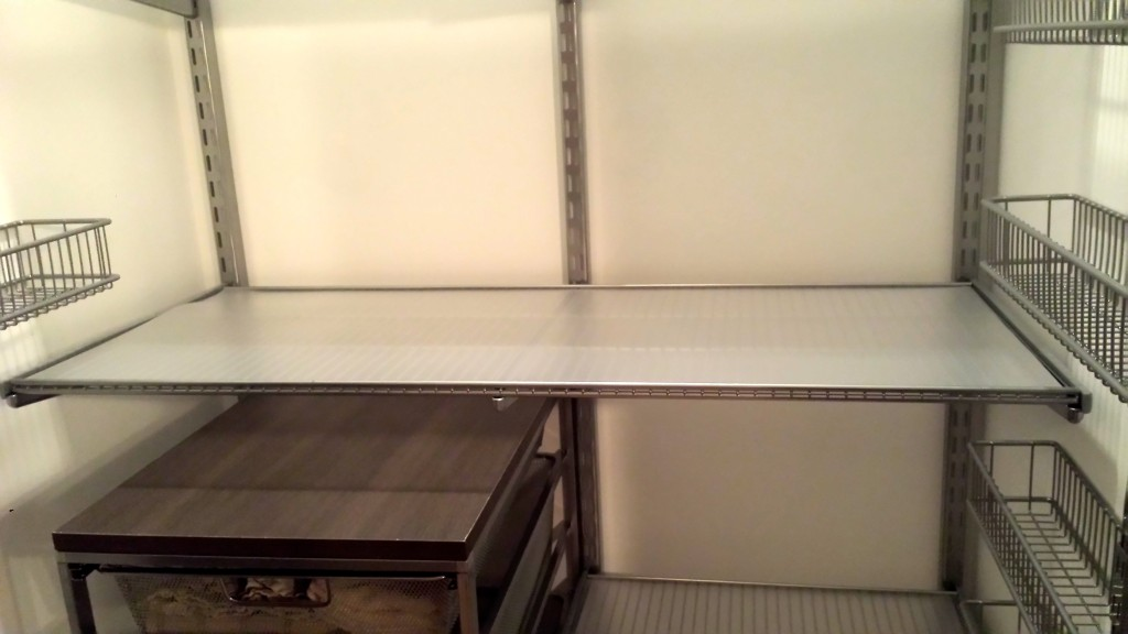elfa pantry shelves