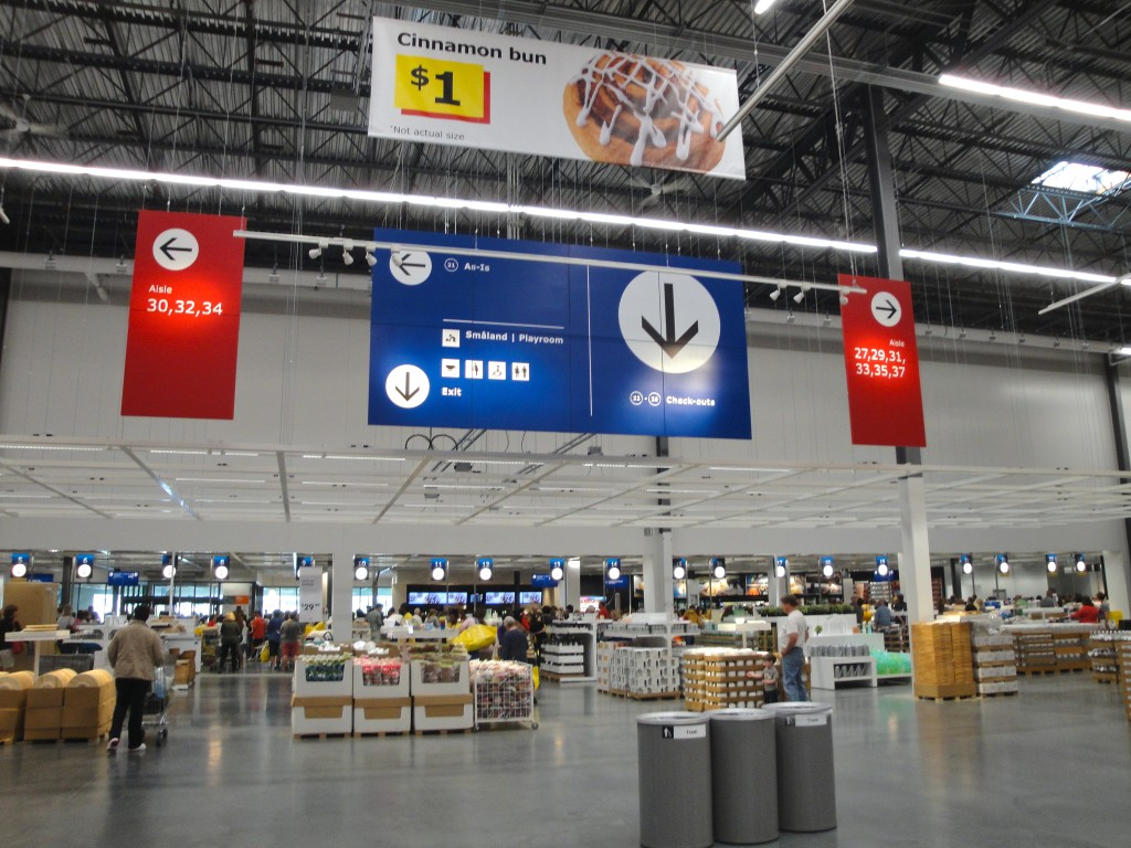 Ikea STL checkout