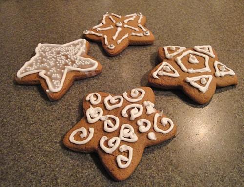 Star Gingerbread Cookies
