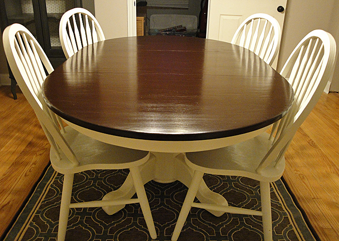 Diy Two Tone Table