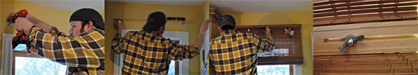 how to install blinds