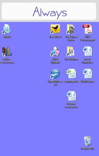 always desktop