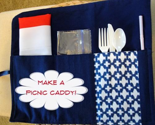 picnic caddy tutorial