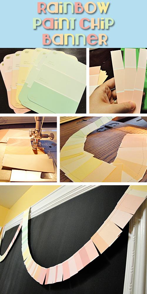 paint chip banner tutorial