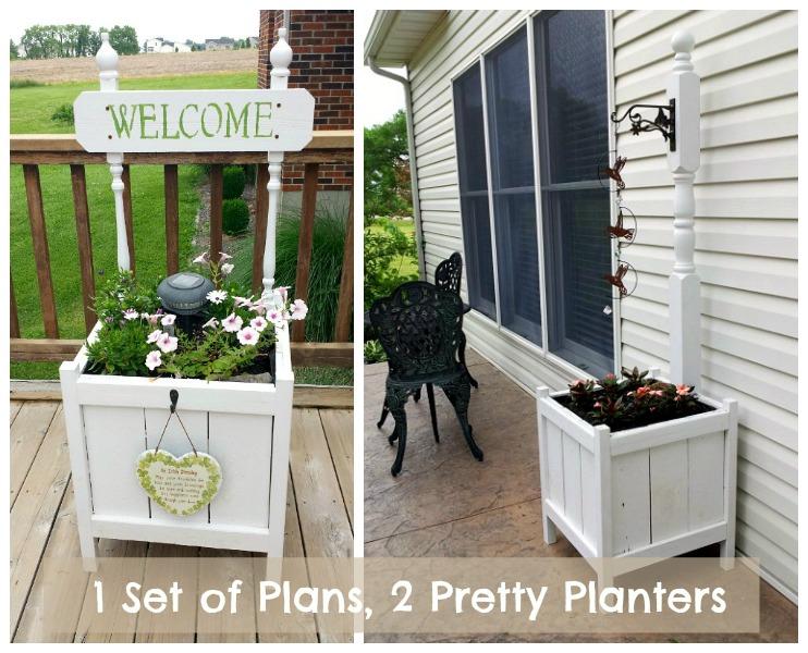 Ana White Planter Upgrade