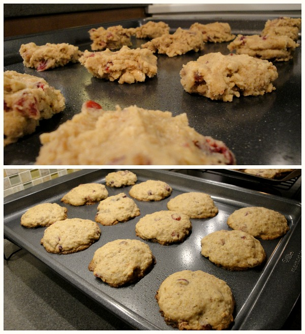 Stuffing cookies