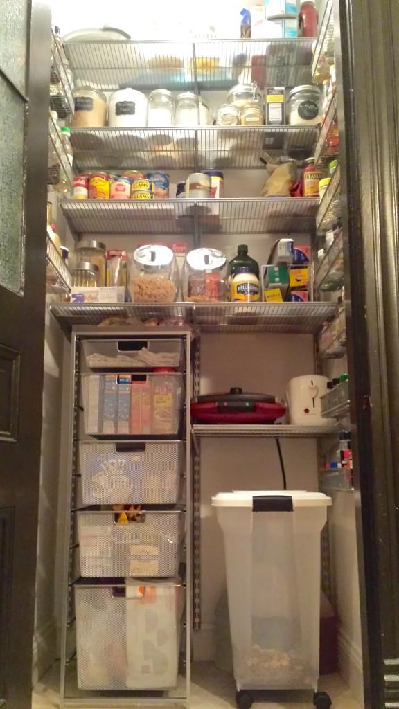 Elfa pantry system