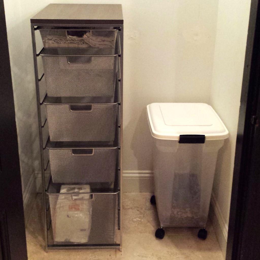 Elfa drawers
