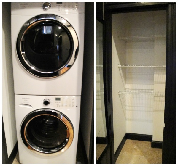 Laundry and Linen Closets