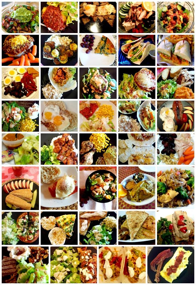 April 2015 Meals