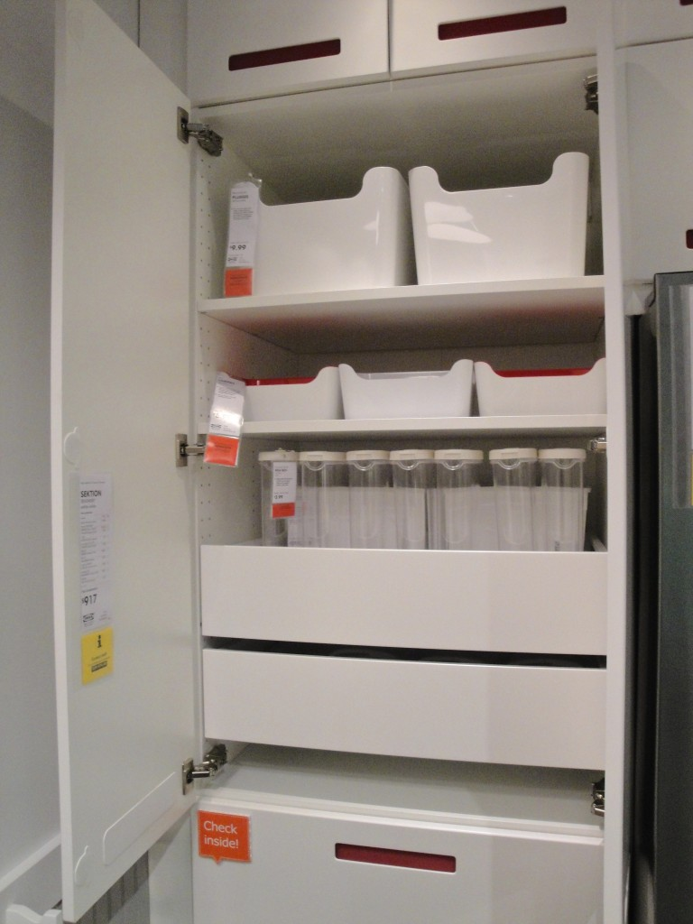 Ikea kitchen organizing
