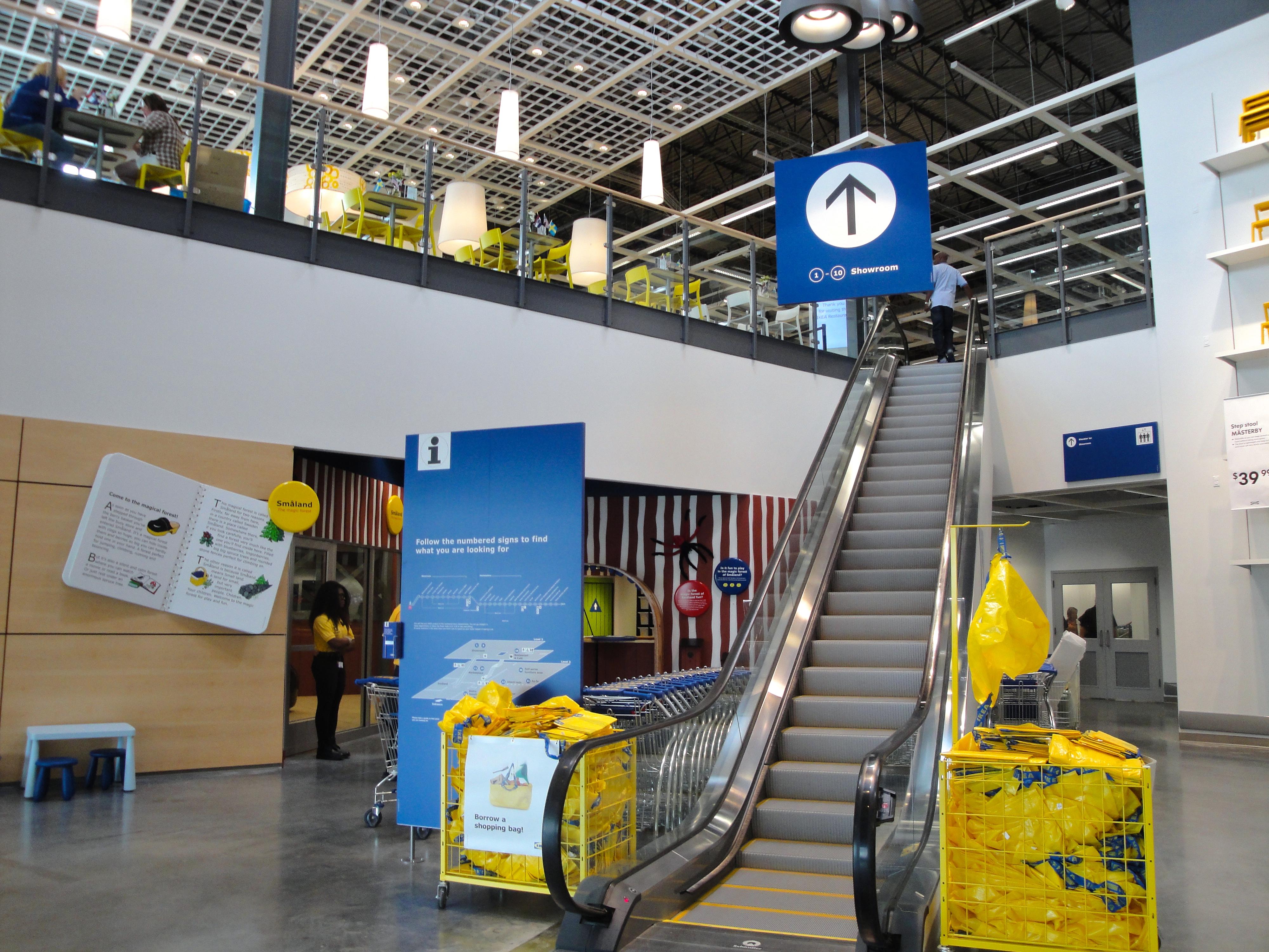 Navigating Ikea St Louis Entrance