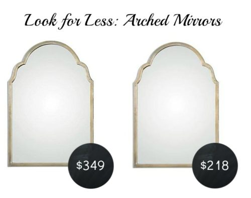 Look for Less Arched Mirrors